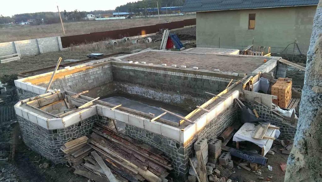 Будівництво фундамету