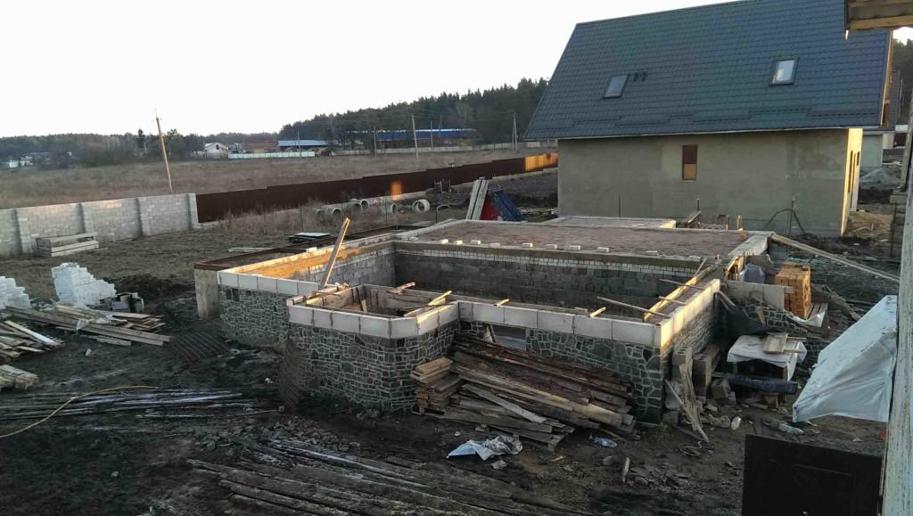 Будівництво фундаменту