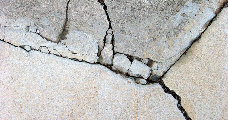 Почему трескается бетон картинки