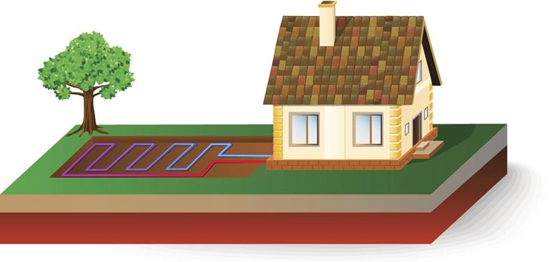 Геотермальное отопление дома фото